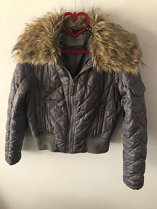 Kürk Yakalı ceket
