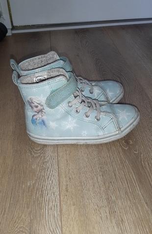 h&m elsa frozen su yeşili 28 no ayakkabı