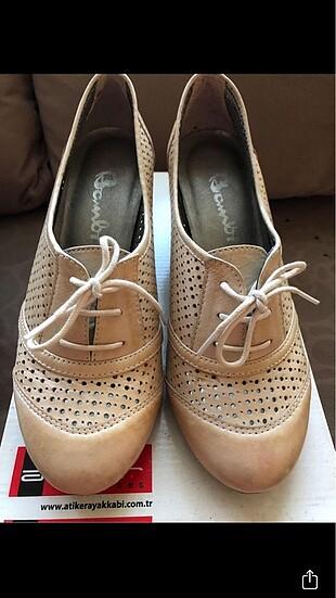 36 Beden ten rengi Renk Topuklu Ayakkabı