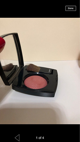 Chanel powder blush- 55 in love rengi