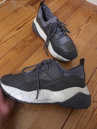 Gri rahat spor ayakkabı