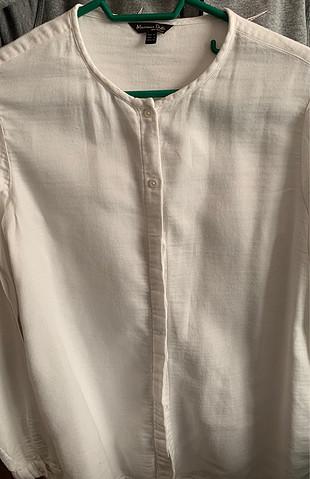 Massimo Dutti Krem gömlek