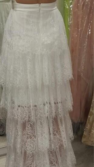 s Beden beyaz Renk Nişan dügün elbisesi