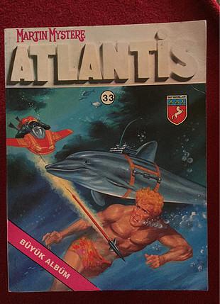 Atlantis büyük albüm birinci baskı çizgi roman