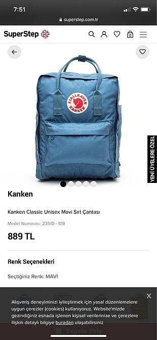 kanken sırt çantası