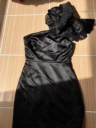 Lipsy London Siyah Elbise