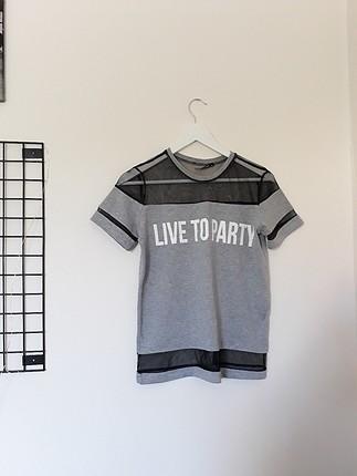 live to party tshrt /M