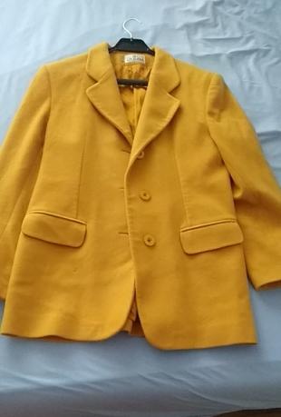 44 Beden hardal rengi ceket