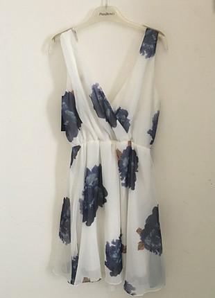 Lidyana çiçekli elbise