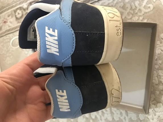 Nike lacivert spor ayakkabı