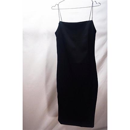Diğer Siyah midi elbise