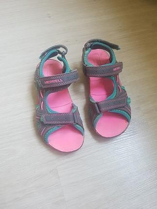 31 Numara orjinal Merrell yazlik sandalet ayakkabi