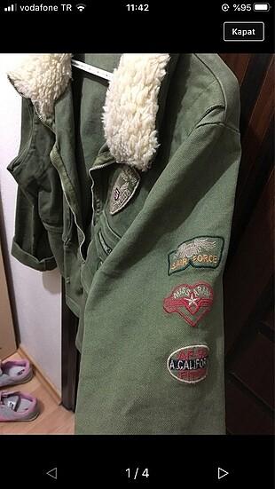 Haki ceket