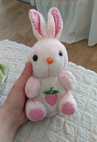 Peluş tavşan oyuncak