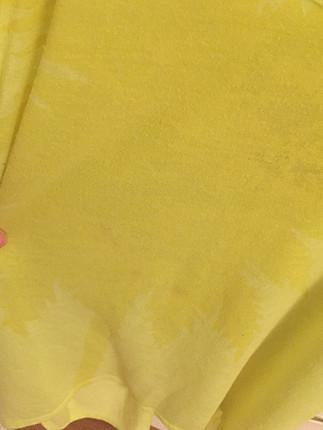 s Beden sarı Renk Fosforlu sarı plaj üstü