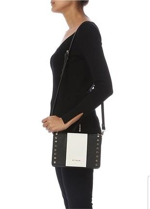 648dcd933d92e universal Beden siyah Renk Yeni Beymen altın rengi troklu messenger çanta