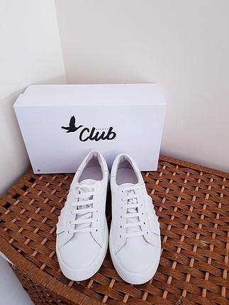 37 Beden Yeni Beymen Clup gerçek deri sneakers