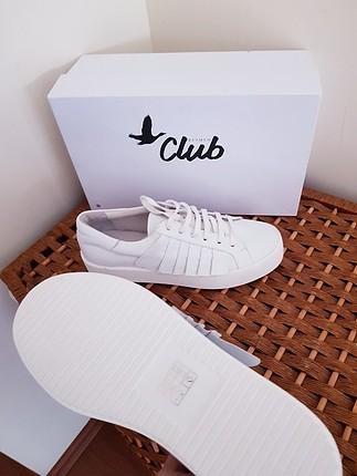 37 Beden beyaz Renk Yeni Beymen Clup gerçek deri sneakers