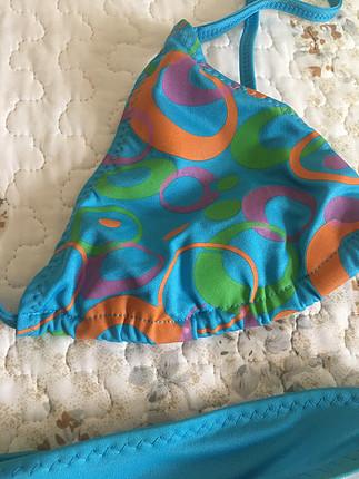 Koton Desenli mavi bikini takım