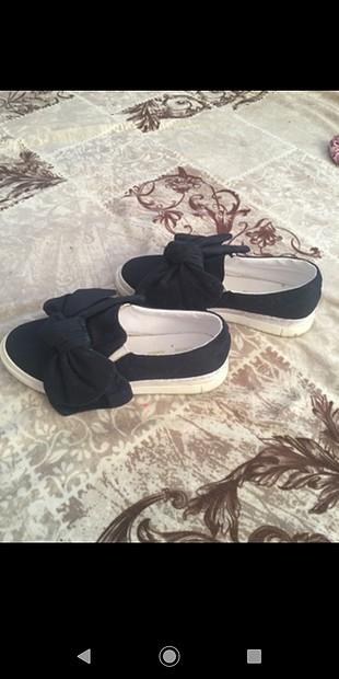 TAKAS OLUR lacivert fiyonklu ayakkabı