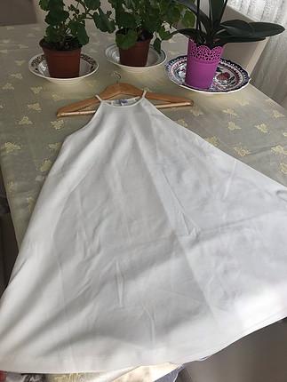 Zara Zara beyaz elbise