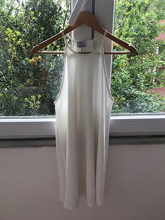 s Beden beyaz Renk Zara beyaz elbise