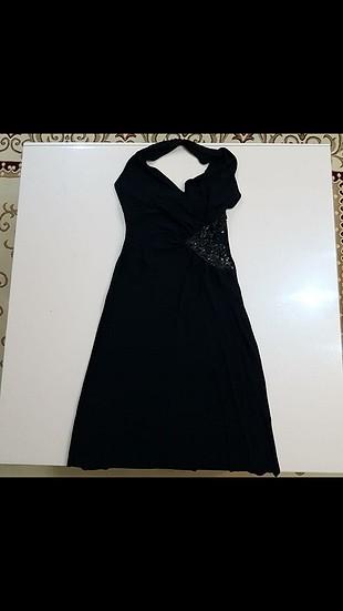 36 Beden siyah Renk ipekyol elbise