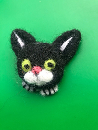 Kedi broş