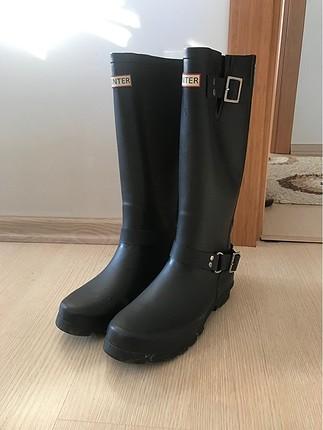 Hunter yağmur çizmesi