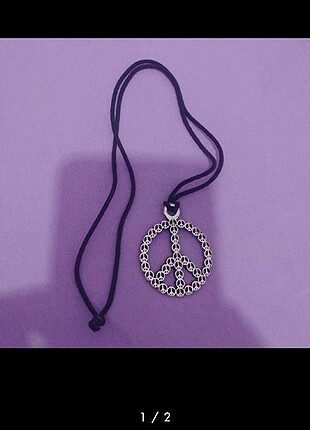 Peace kolye