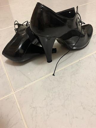 36 Beden siyah Renk Rugan ayakkabi