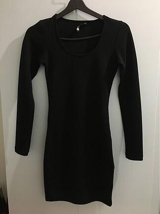 Siyah S beden kalem elbise