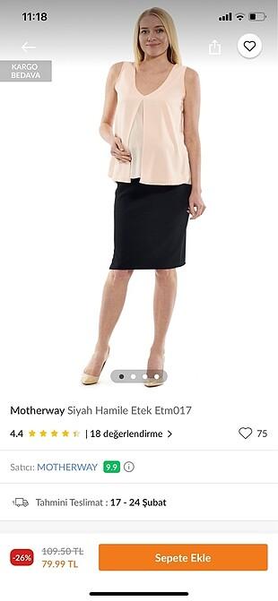 Giyilmemiş hamile etek