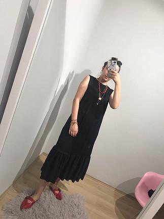 S beden uzun elbise