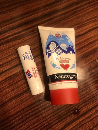 Neutrogena el kremi dudak nemlendirici