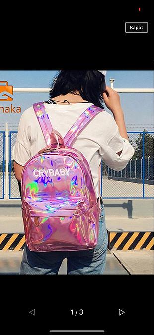 Cry baby sırt çantası