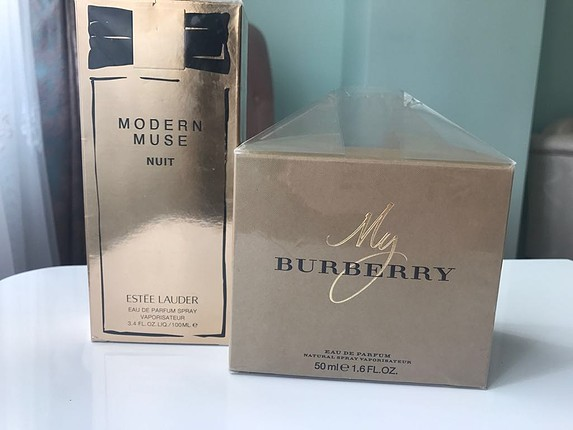 My burberry 50 & Estee MM Nuit 100