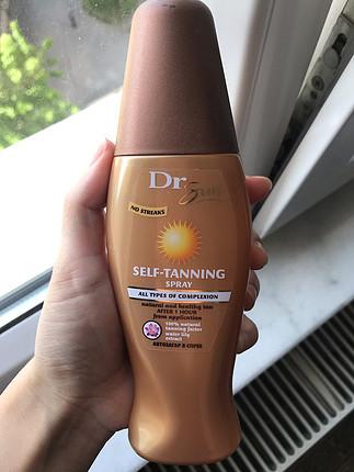 Dr sun bronzlastırıcı sprey