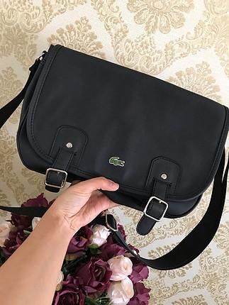 Lacoste askılı çanta