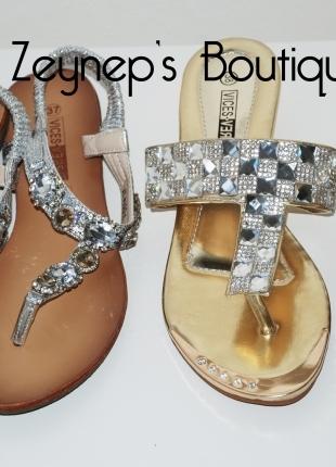 F & F Süslü Açık Ayakkabılar! :)
