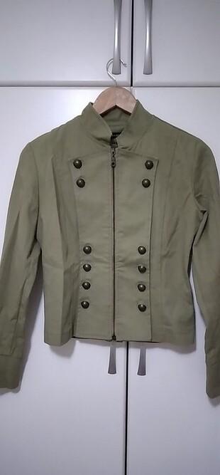 Haki mont, ceket