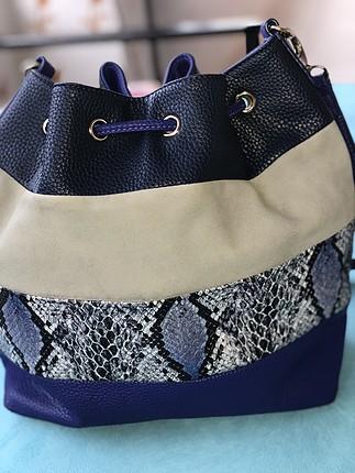 diğer Beden mavi Renk Torba çanta