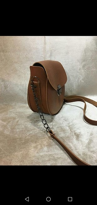 Diğer taba rengi mini çanta