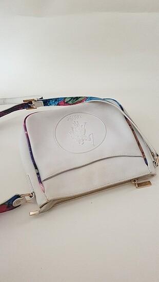 U.S Polo Assn. U.S. polo beyaz çanta