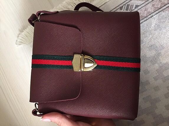 Bordo mini çanta