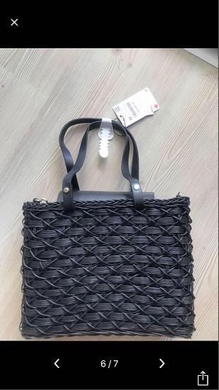 universal Beden siyah Renk Zara çanta