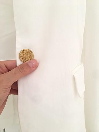 36 Beden beyaz Renk İpekyol ceket