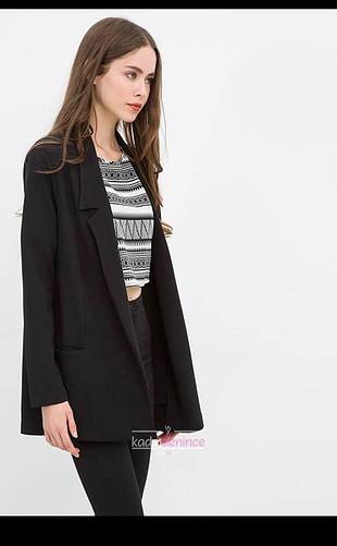 Siyah Oversize Ceket