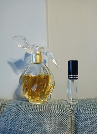 5 ml L'air du Temps Nina Ricci dekant parfüm. 5 ml fiyatıdır ,sp