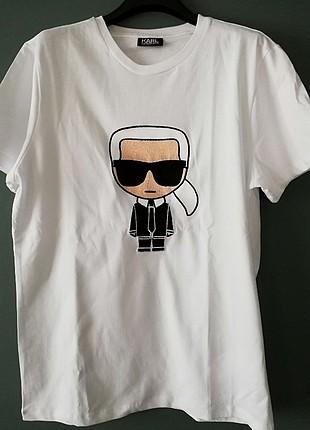 Karl Lagerfeld, tasarım tshirt.